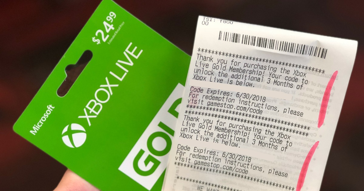9 Months Of Xbox Live Gold Membership Just 24 99 At Gamestop In Store Only Hip2save