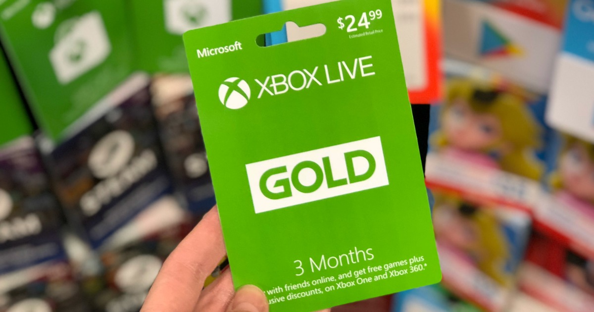 9 Months of Xbox Live Gold Membership Just $24 99 at