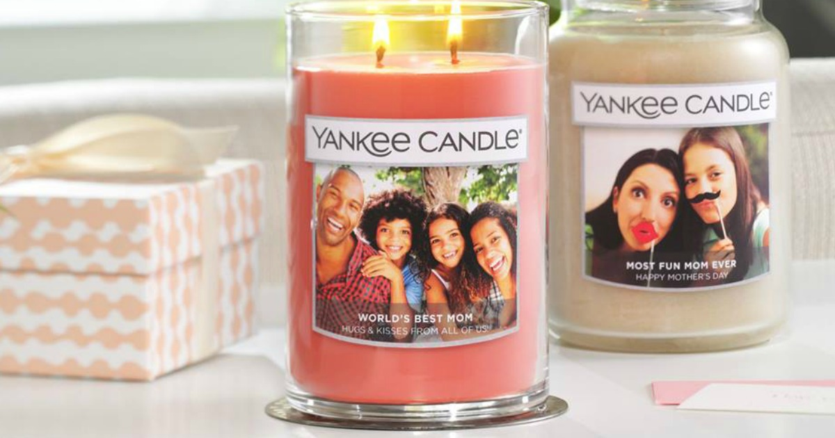 FREE Yankee Candle Personalized Photo Candle Label ($5 ...