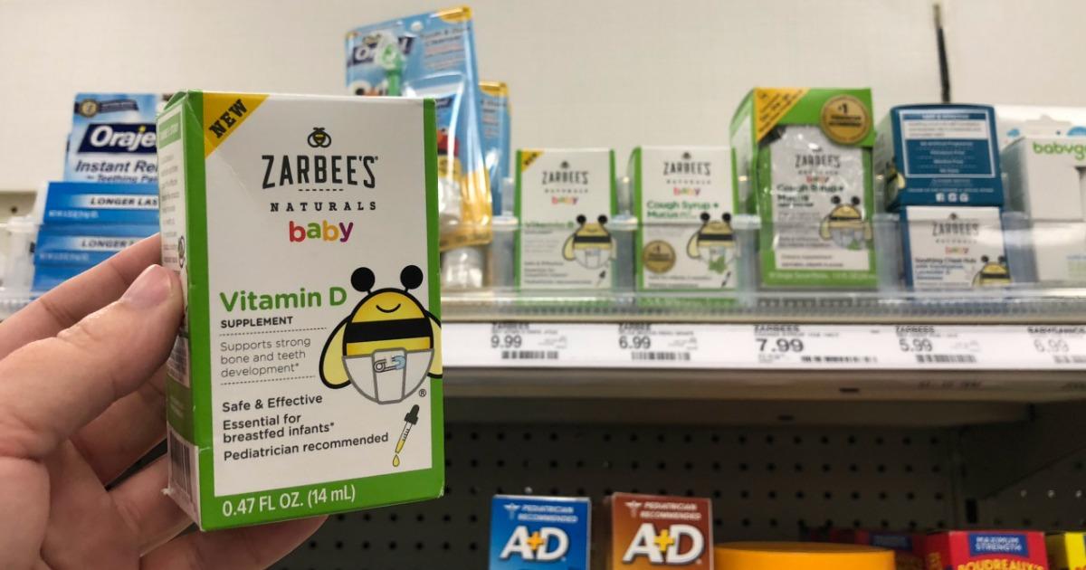 50 Off Zarbee S Naturals Baby Vitamin D Drops Amp Children