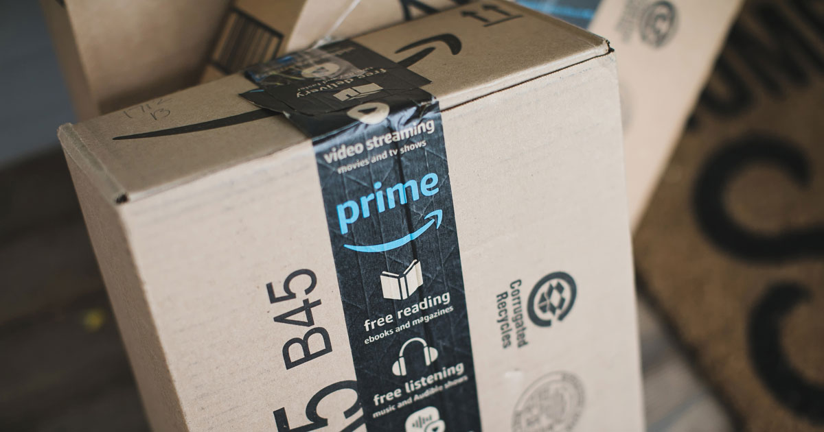 simple tricks & tips for decluttering your home — amazon box