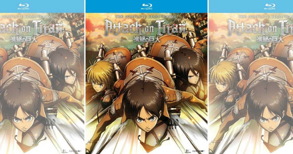 Best Buy: Attack on Titan Season One on Blu-ray Only $21 ...