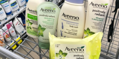Print Over $17 in Aveeno Coupons & Save Up to 60% at CVS & Walmart