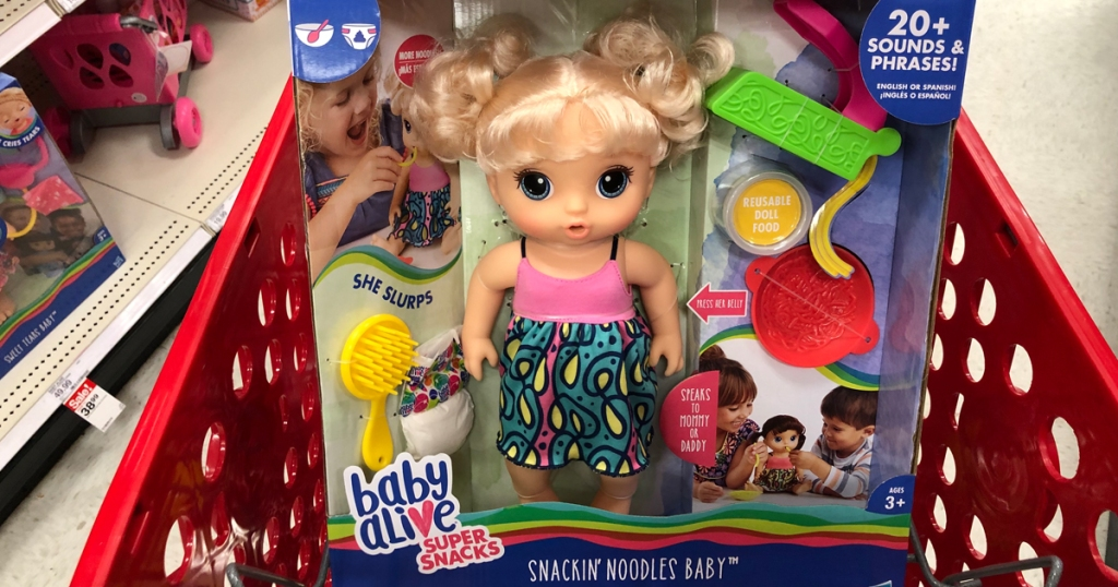 Baby Alive Super Snacks Snackin Noodles Baby Doll Only