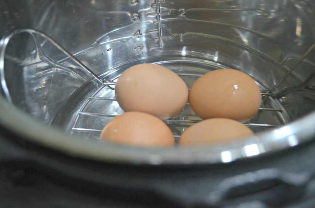 boiled eggs using the instant pot