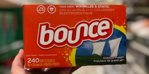 Bounce Dryer Sheets 240-Count Only $3.54 Shipped on Amazon