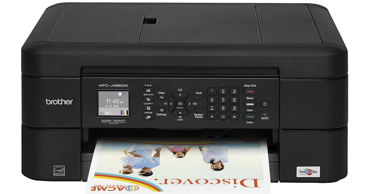 Brother Wireless All-In-One Printer ONLY$39.99 Shipped (Regularly $80)