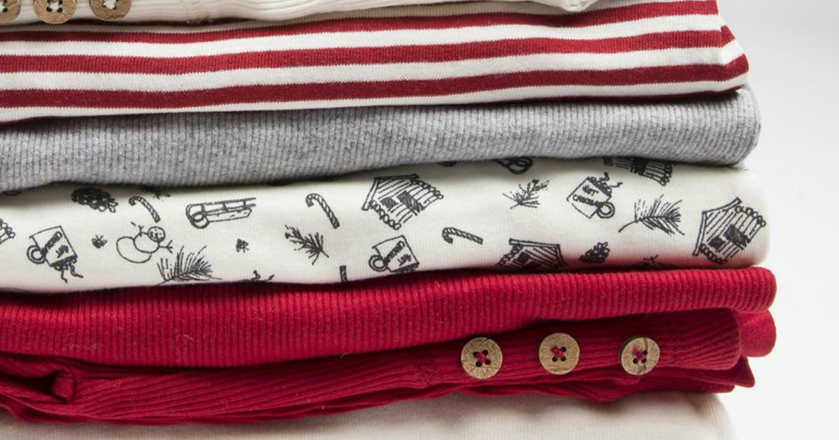 8ceb430ec6dc0 Burt's Bees Organic Winter Pajamas For Entire Family ONLY $8 (Regularly  $40) - Hip2Save