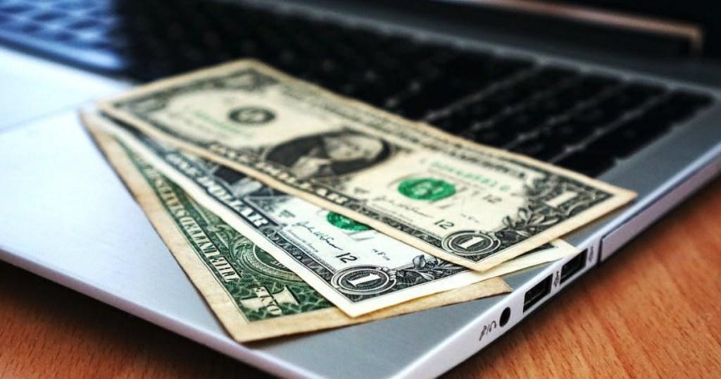 Cash on Computer