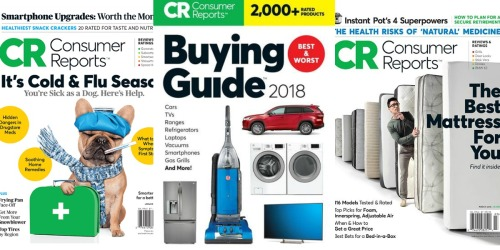 Rare Free Access to Consumer Reports Online