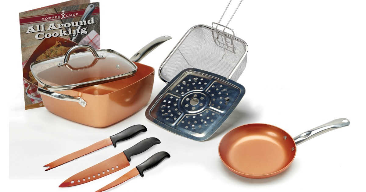 Copper Chef 9 Piece Pan Set Just 49 Shipped Regularly