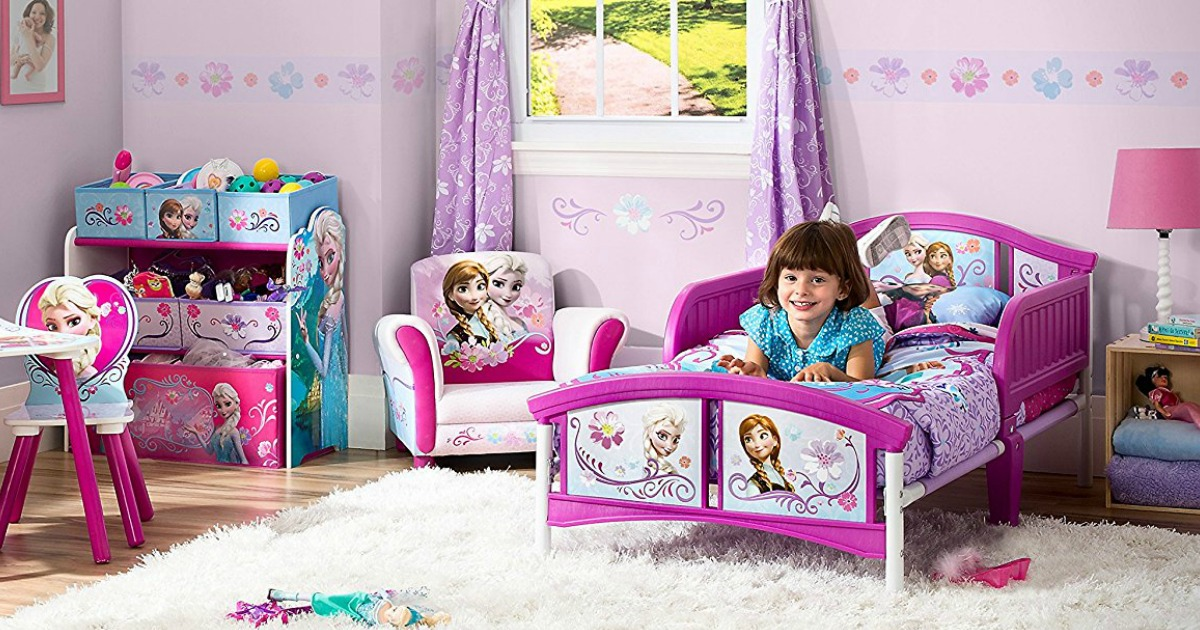 Amazon: Disney Frozen Toddler Bed AND Mattress Only $48 ...