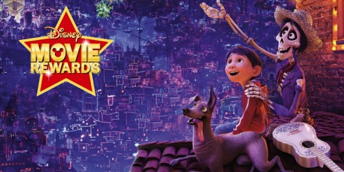 Score 4 FREE Disney Movie Rewards Points