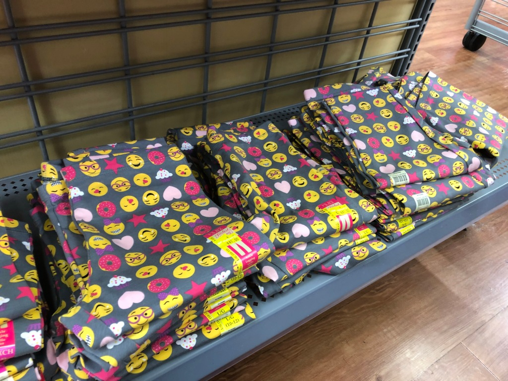 Walmart Clearance Finds: Girls Emoji Leggings ONLY $1 + More