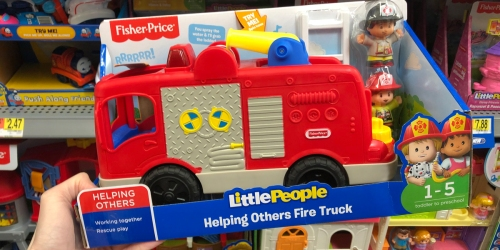 Little People Fire Truck Only $7.99 at Walmart (Regularly $15)