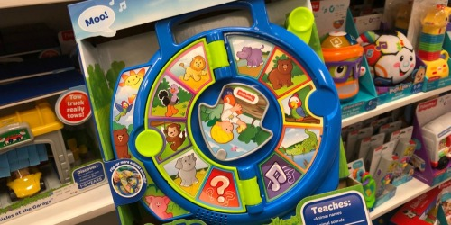 Fisher-Price Little People World of Animals See 'n Say Only $7