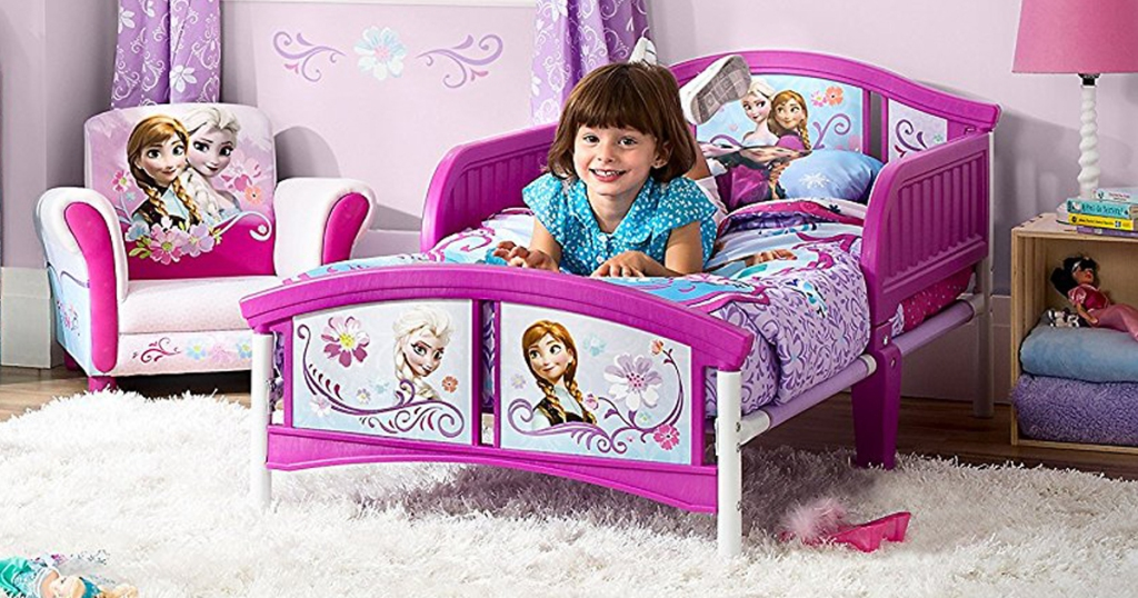 Amazon: Delta Frozen Toddler Bed AND Mattress ONLY $48 Shipped