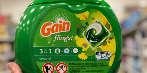 Gain Flings 96-Count Only $16 Shipped at Amazon