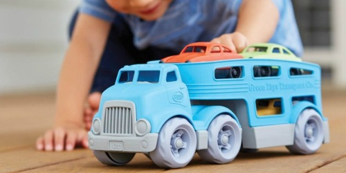 Green Toys Car Carrier Vehicle Set Just $12.75 (Regularly $25)