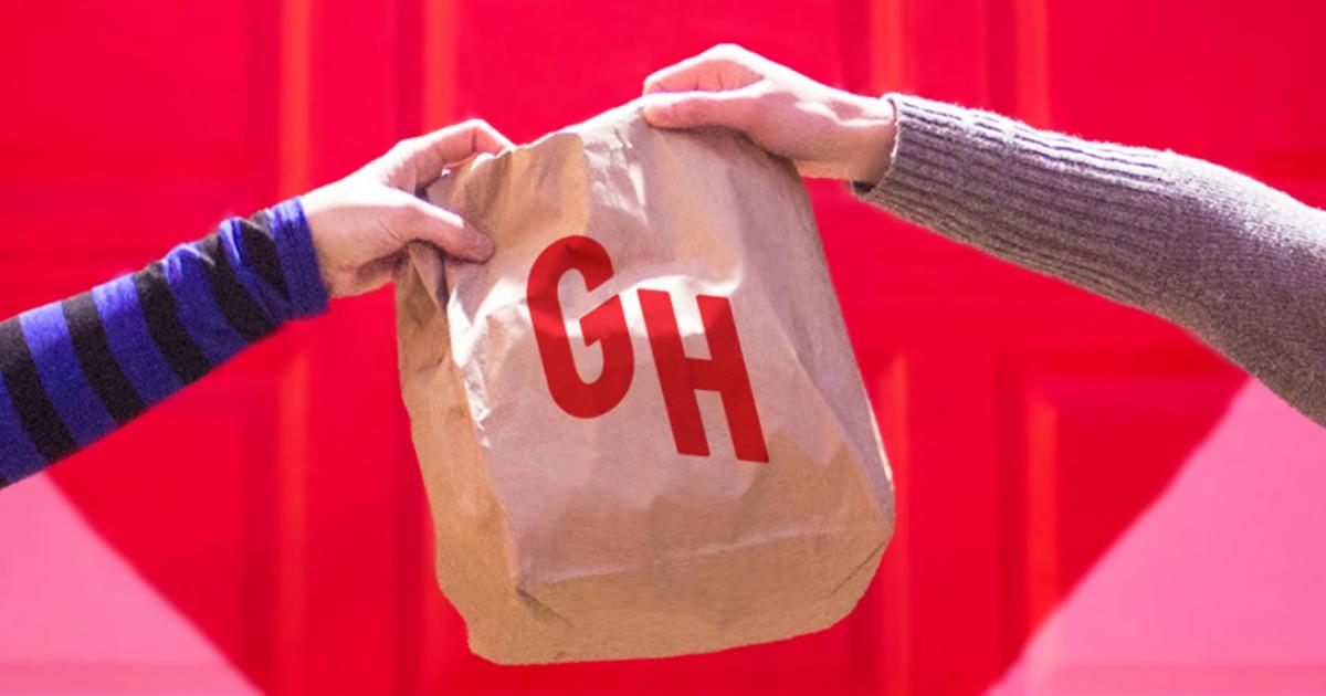GrubHub bag