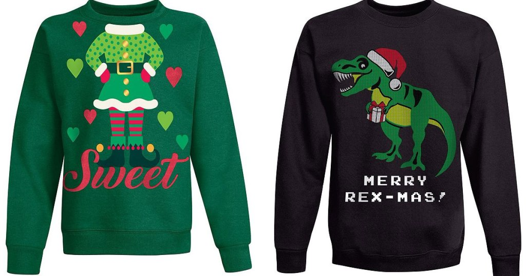 Hanes Ugly Christmas Sweaters Just 349 599 Shipped Hip2save