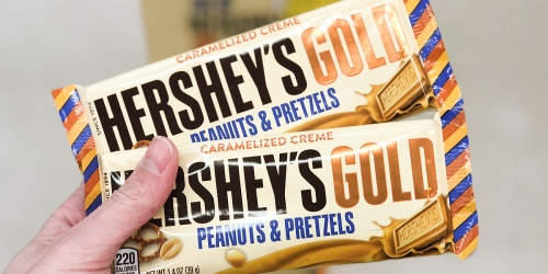 Run! $1.50/1 Hershey's Gold Bar Coupon (1st 10,000)