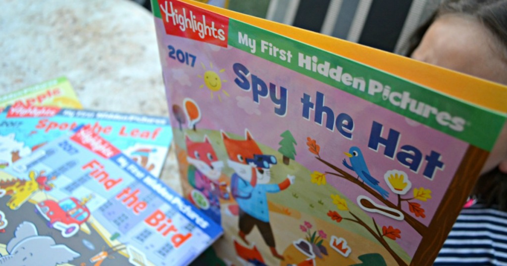 highlights hidden pictures book