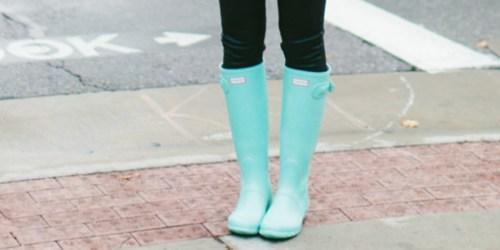 Hunter Women's Original Tall Gloss Rain Boots Only $64.99 Shipped (Regularly $150) + More