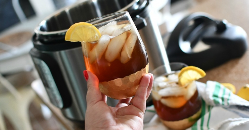 iced tea in the instant pot