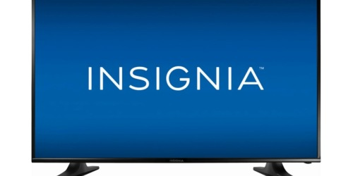 Insignia 40″ LED TV Only $129.99 Shipped (Regularly $200)