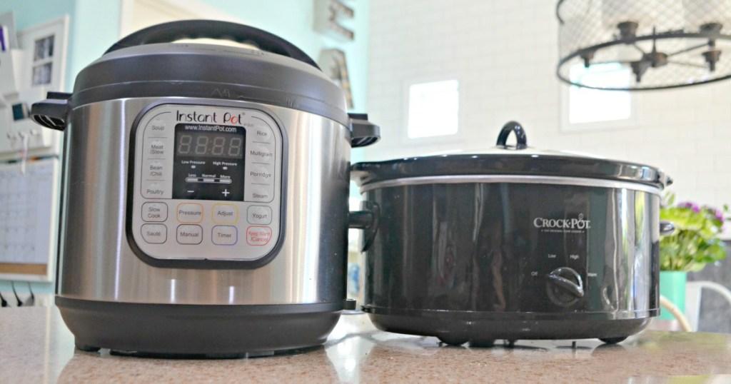 instant pot vs crockpot