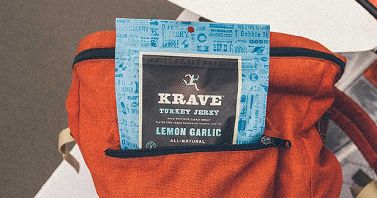 Amazon Krave Turkey Jerky 8 Count Bags Only 17 99 Just