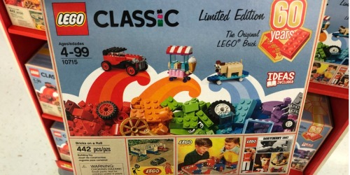 LEGO Classic Bricks on a Roll 60th Anniversary Limited Edition Set Just $25 (IN STOCK NOW)