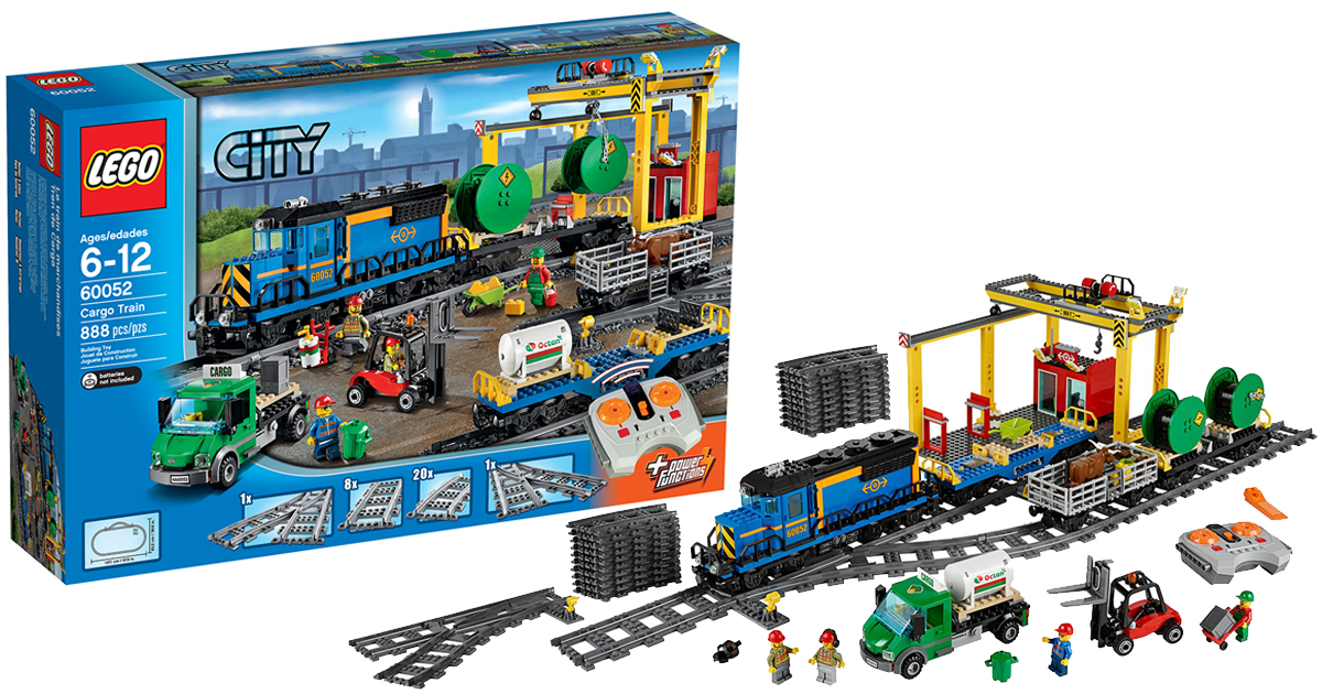 LEGO City Cargo Train 888-Piece Set Only $139.97 Shipped ...