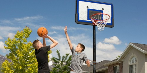Lifetime 44-Inch Adjustable Height Basketball Hoop Only $64.88 Shipped