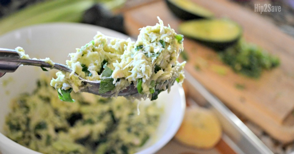 Low Carb Avocado Chicken Salad