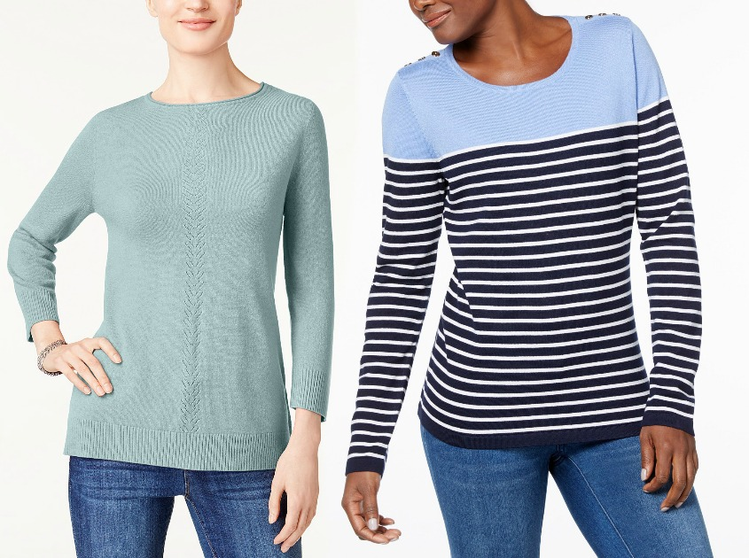 Up To 75 Off Womens Sweaters At Macys Hip2save