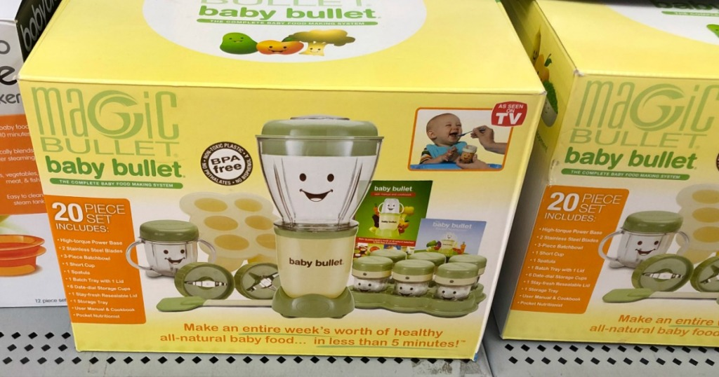 Walmart com: Magic Bullet Baby Bullet Complete Set Possibly