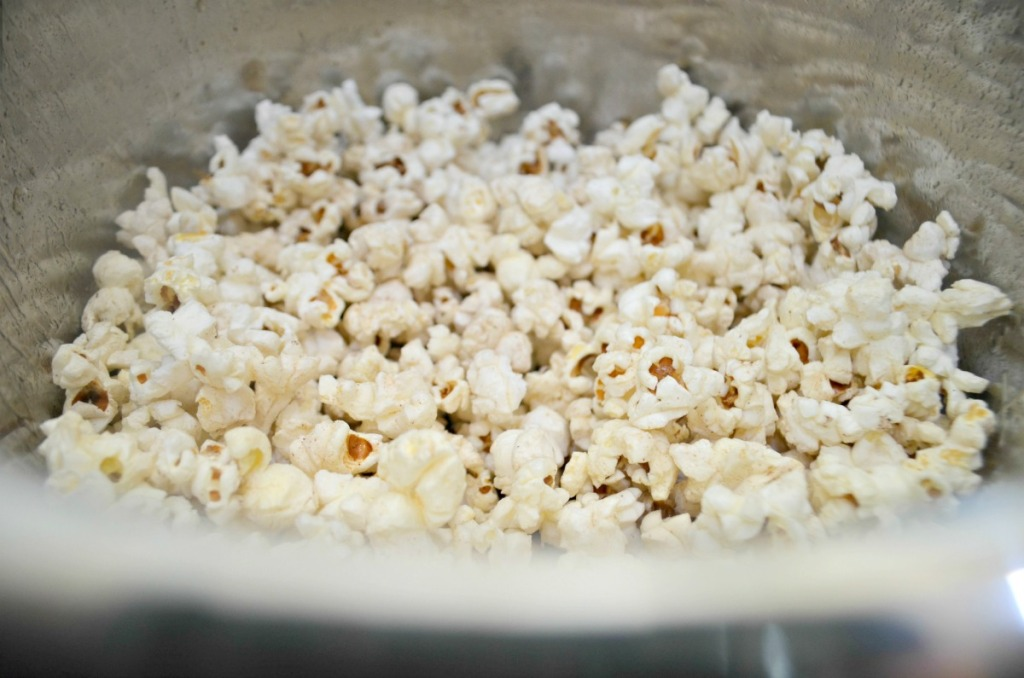 popcorn inside an instant pot