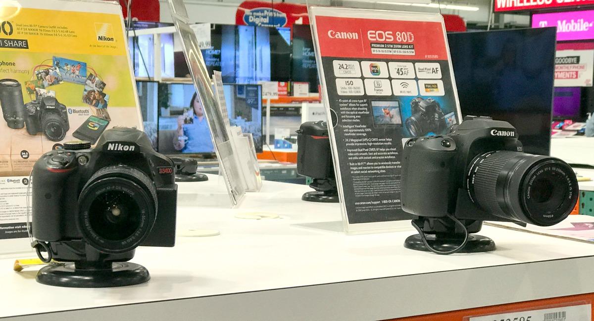 previous models of digital cameras