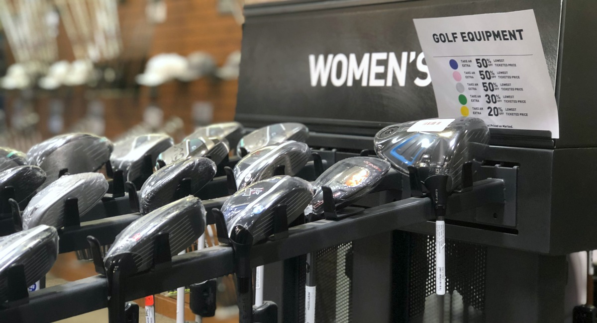 clearance golf clubs and equipment