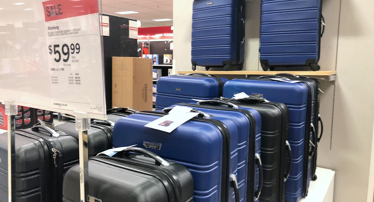 sale on roller luggage