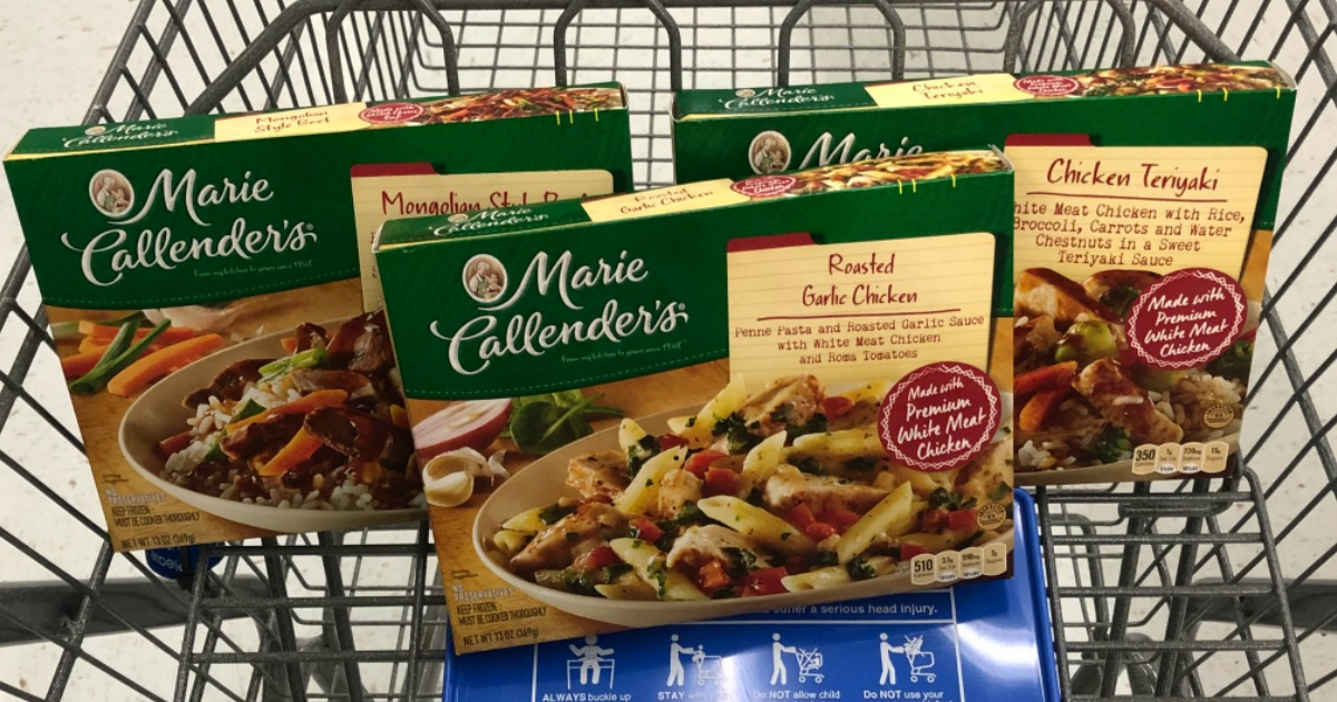 graphic about Marie Callender Coupons Printable known as Fresh Marie Callenders and Nutritious Option Discount codes \u003d As Small As