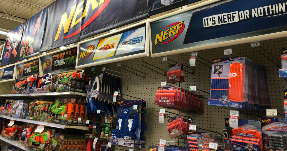 Printing Buy One Get One 50 Off Nerf Blasters At Toysrus