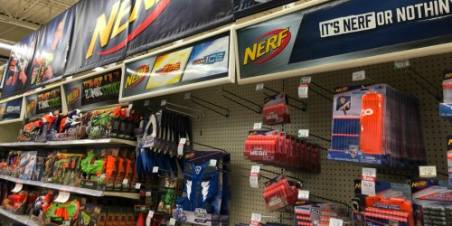 Buy One Get One 50% Off NERF Blasters at ToysRUs