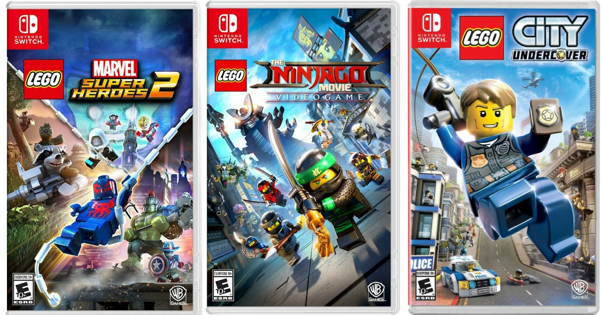Best Buy Lego Ninjago Movie Game For Nintendo Switch Only 29 99 Regularly 50 More Hip2save