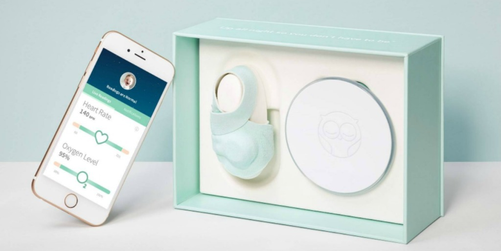 phone with sock baby monitor