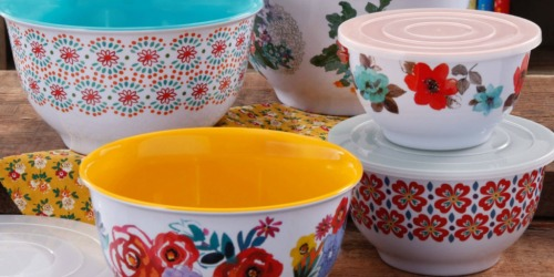 50% Off The Pioneer Woman Mixing Bowls, Cookware & More at Walmart.com