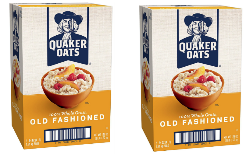 100 USPS Forever Stamps + Quaker Oats 8-Pound Box + 2 Samples as Low