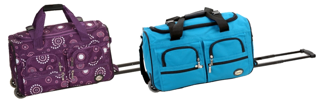 6126bd57a4c6 ... Rockland Luggage 22 Inch Rolling Duffle Bag. Please note that prices  will vary depending on the style pattern you choose. Consider grabbing one  now for ...